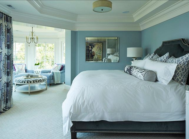 Blue Master Bedroom 112 best bedroom sanctuaries images on pinterest | benjamin moore