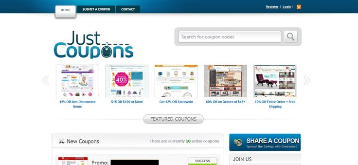 Just Coupons --> http://just-coupons.com
