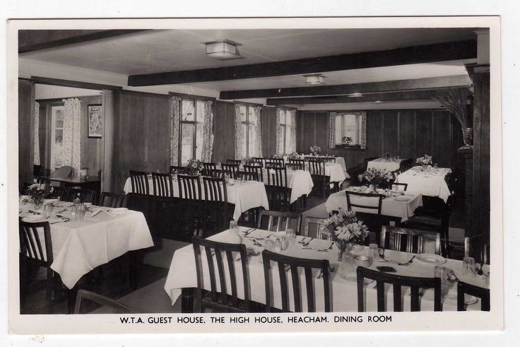 NORFOLK, HEACHAM, W.T.A. GUEST HOUSE, HIGH HOUSE, DINING ROOM, RP | eBay