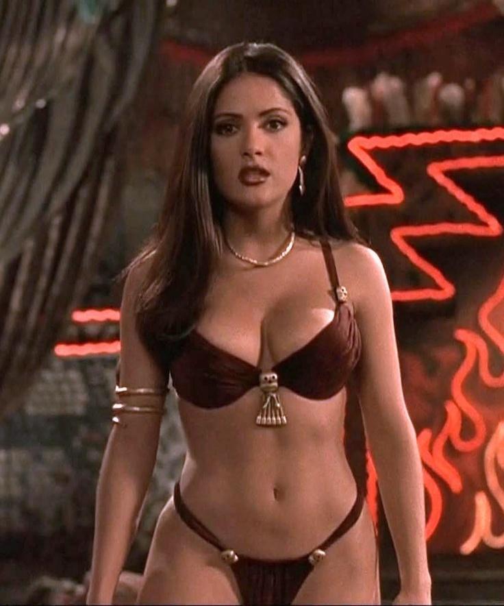Hot Hollywood Salma Hyek Nude Scenes