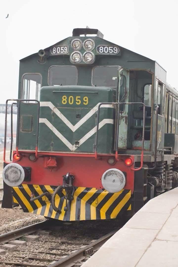Locomotive Diesel-électrique des Pakistan Railways 2016
