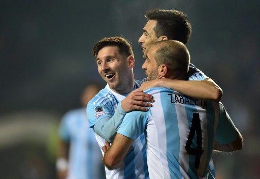 Leo Messi. Argentina 6-1 Paraguay.