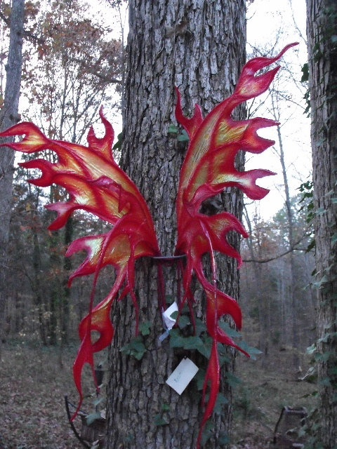 Flame dragon / fairy wings