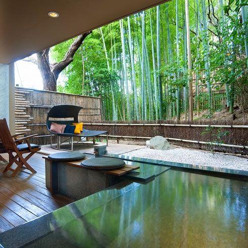 熱海温泉旅館「熱海 ふふ」全室熱海の源泉掛け流し自家温泉露天風呂付高級温泉旅館