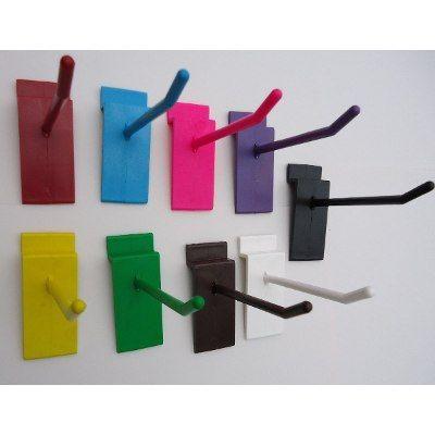 Ganchos Para Panel Ranurado 100 X 270 Pesos Organiza Exhibe - $ 270.00 en Mercado Libre