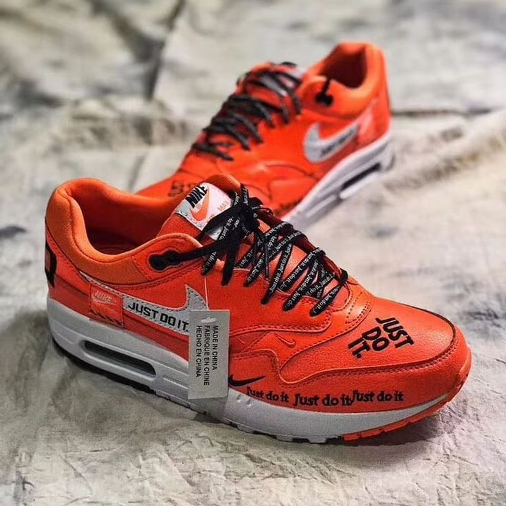 Nike Air Max 1 Just Do It Orange | Sole Collector