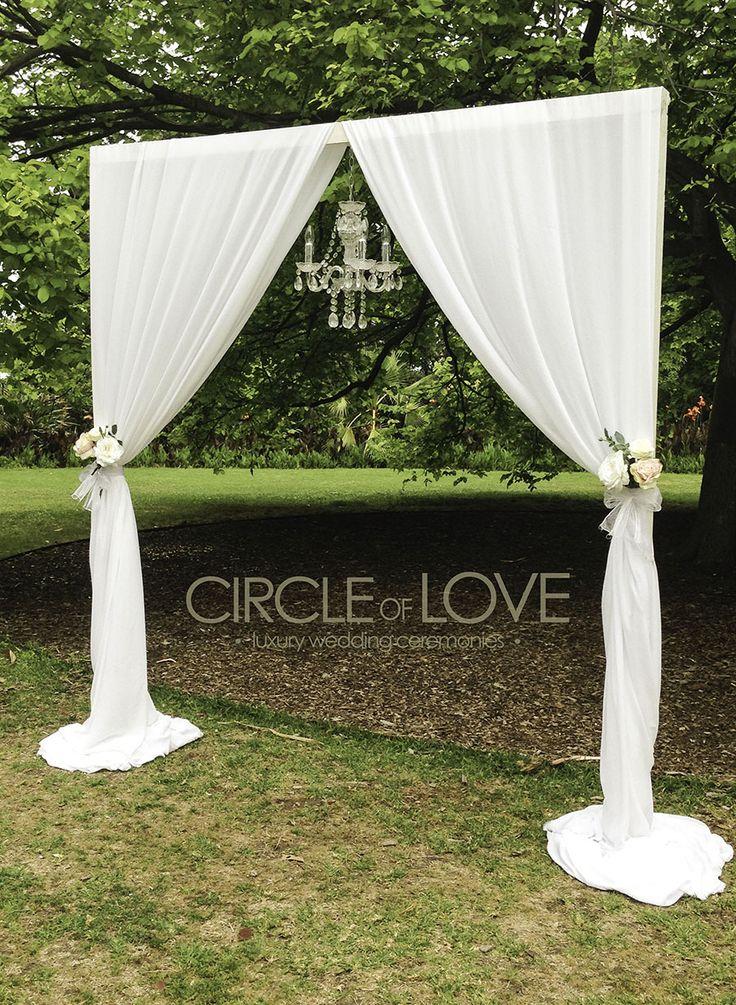 arcos de pvc para bodas - Buscar con Google                                                                                                                                                                                 More