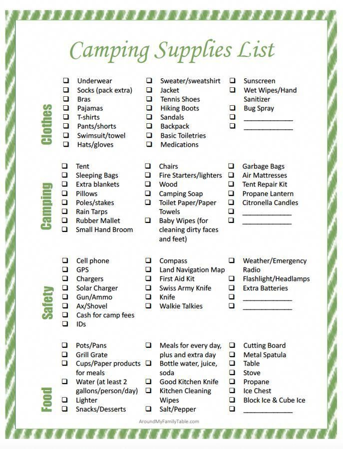 Tips For Having A Truly Enjoyable Camping Trip CAMPING Pinterest