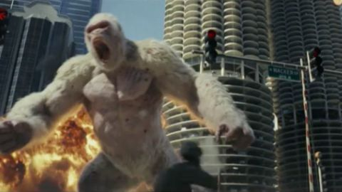 """How The Rampage Movie Aims To Avoid The """"Video Game Curse"""" Gaming"""