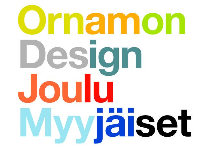 Ornamon Design Joulumyyjäiset 2014