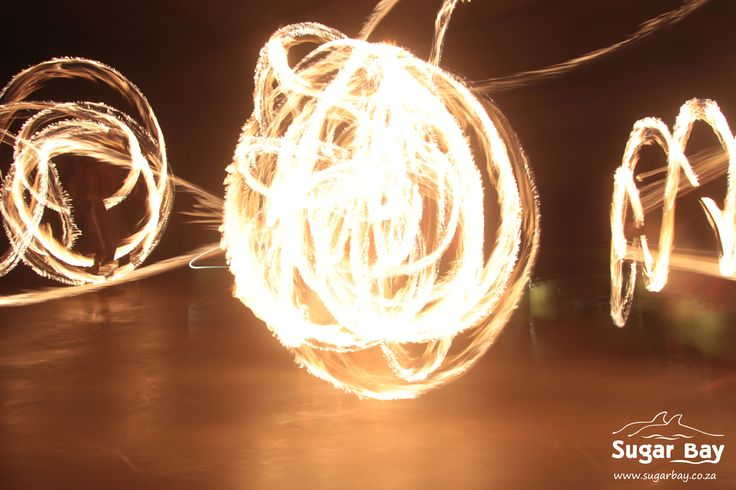 Our fire shows at Sugar Bay get super exciting when there is more than one contestant willing to showcase their talent.