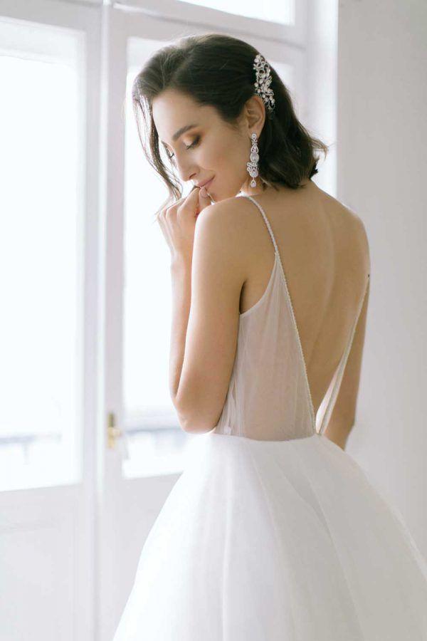 romantyczna biżuteria ślubna by Novia Bianca http://smartbride.pl/firmy/novia-blanca/