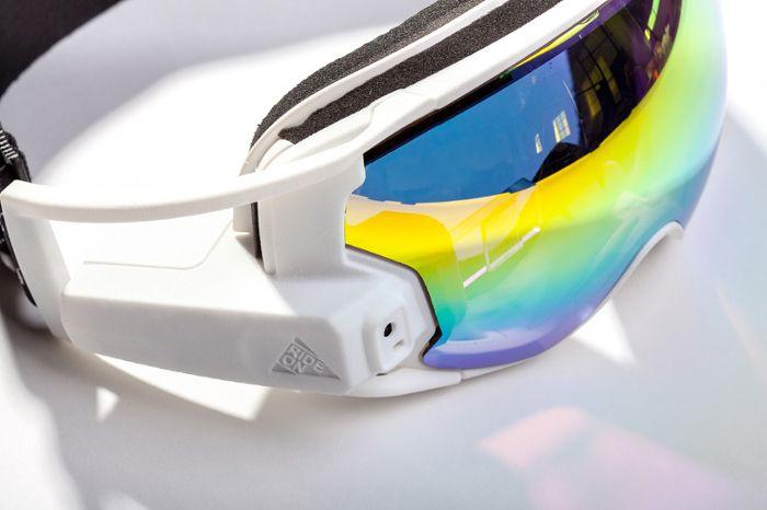 RideOn le masque de réalité augmentée pour Ski et Snowboard
