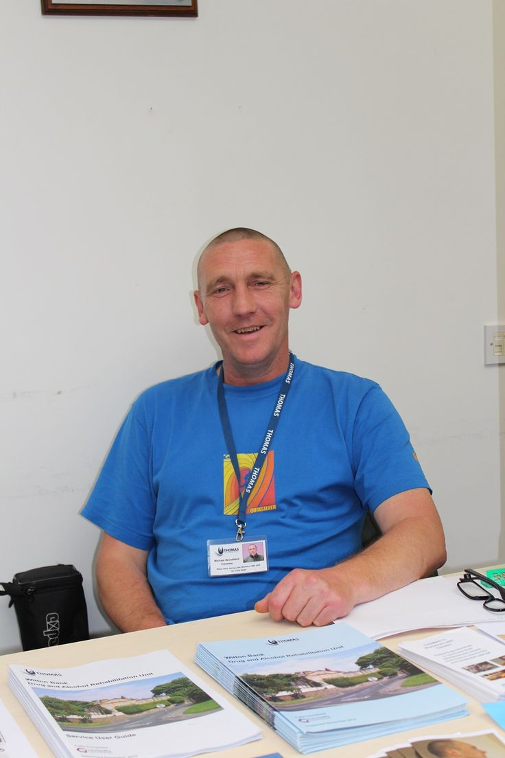 My old Environment Volunteer Mick at Evolve