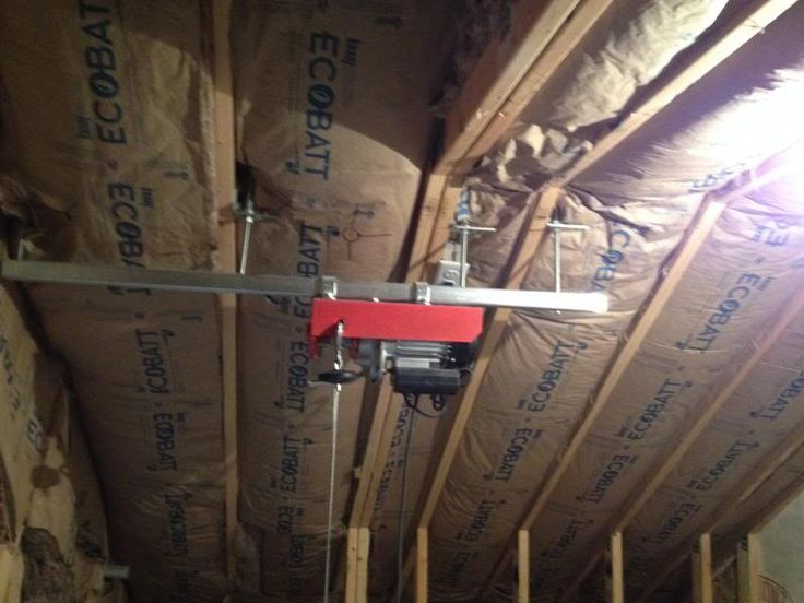 25 best ideas about Attic lift on Pinterest