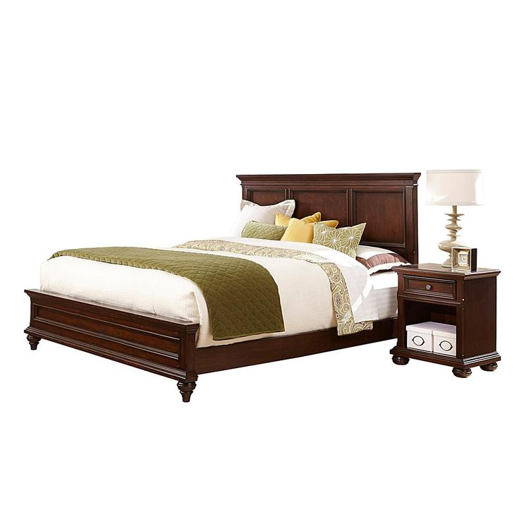 Home Marketplace Home Styles Colonial Classic Bed Set - King