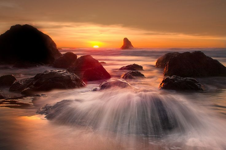 Sunset With Sea Wave Tap To See More Breathtaking Beach: 163 Best Kevin McNeal Photography Images On Pinterest