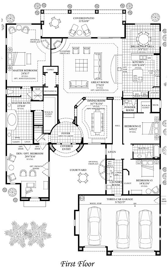 Luxury floor plans house with luxury home floor Luxury modern mansion floor plans