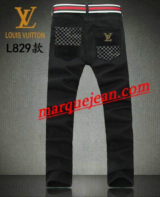 Vendre Jeans Louis Vuitton Homme H0024 Pas Cher En Ligne.