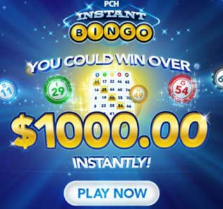 PCH Instant Bingo and Other Online Gambling Games