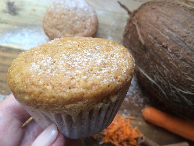 Domácí kokosové muffiny se šťavnatou mrkvičkou (abyste lépe viděli) | Home-Made.Cz