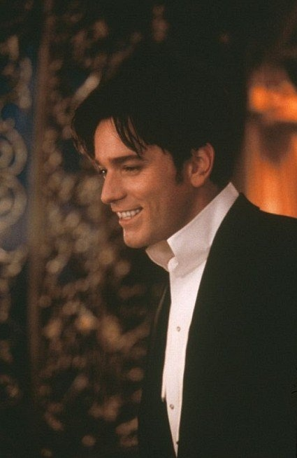 Ewan McGregor in Moulin Rouge... Can't handle his sexy voice or naively sweet personality. Just can't <3
