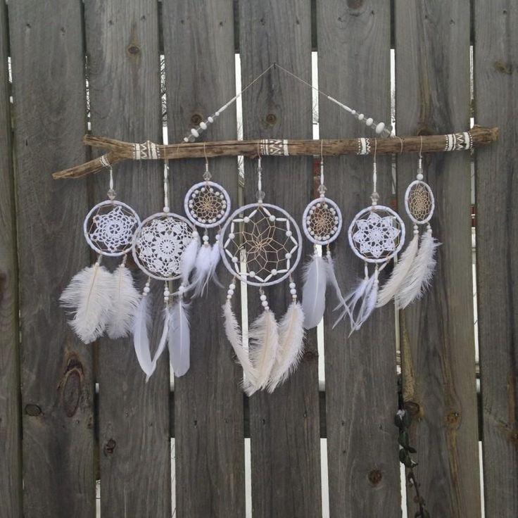 Wedding Dreamcatcher - White Dreamcatcher - Giant Dreamcatcher ...