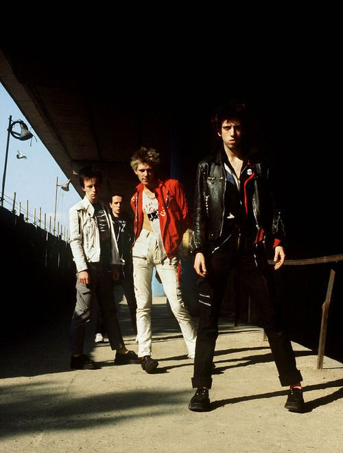 The Clash under the Westway, London