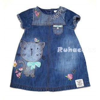 Aranyos cicás kislány ruha