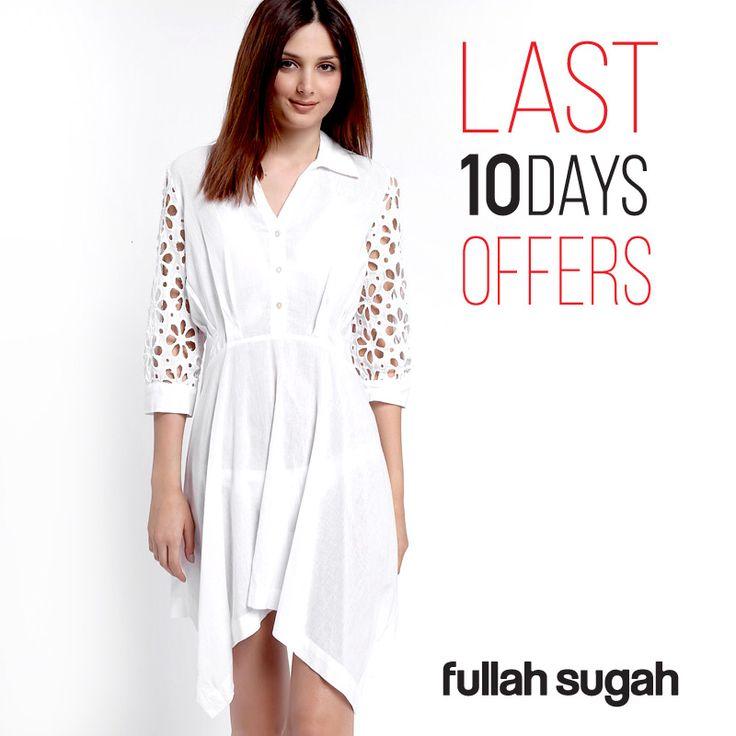 Последние 10 дней распродажи от Fullah Sugah