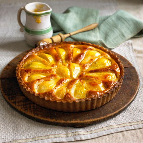 Normandy Pear Tart | Event recipes and ideas | Pinterest