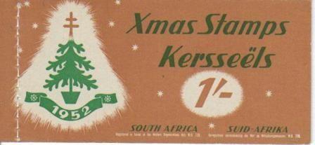 UNION SA 1952 1S CHRISTMAS BOOKLET COMPLETE