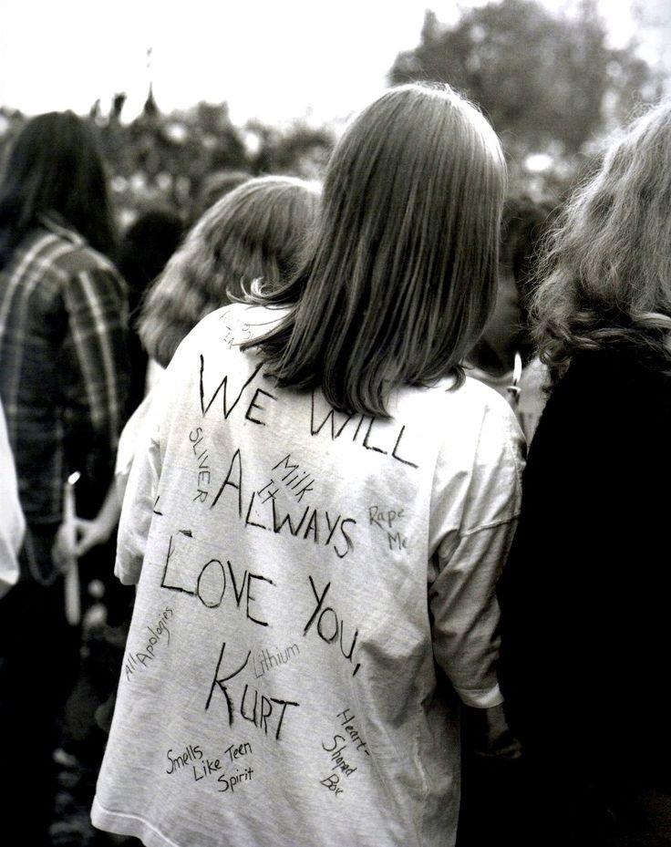 kurt cobain nirvana Seattle Grunge