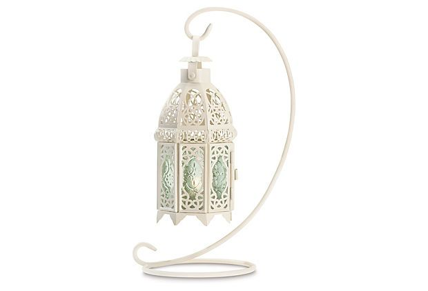 Give a memorable gift, something like this Moroccan tabletop lantern.