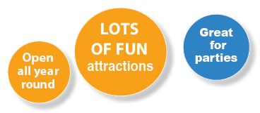 Fun Attractions great for parties
