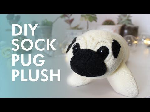 DIY Sock Pug Plush | LDP - YouTube