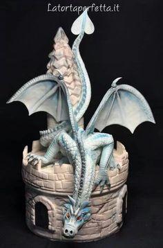 Awesome Dragon Cake Art #provestra