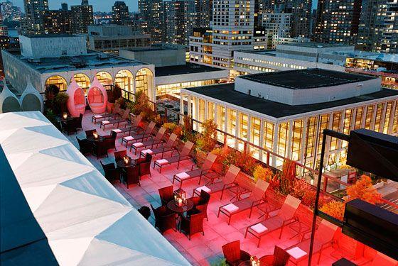 Empire Hotel rooftop NY