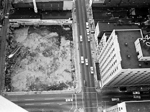 Nashville Then: June 1965 This vacant lot, here on June 8, 1965, at Fourth Avenue and Church Street, site of the historic Maxwell House, will be the location of a proposed $10 million, 20 or more story office building. The owners of the lot, Life and Casualty Insurance Co. and Third National Bank will be involved in the new building. The Noel Hotel sits across the street. Jimmy Ellis / The Tennessean