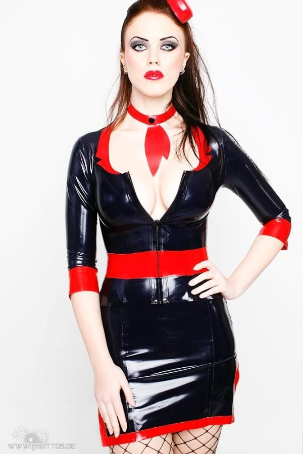 Pin on Latex Fashion for Women
