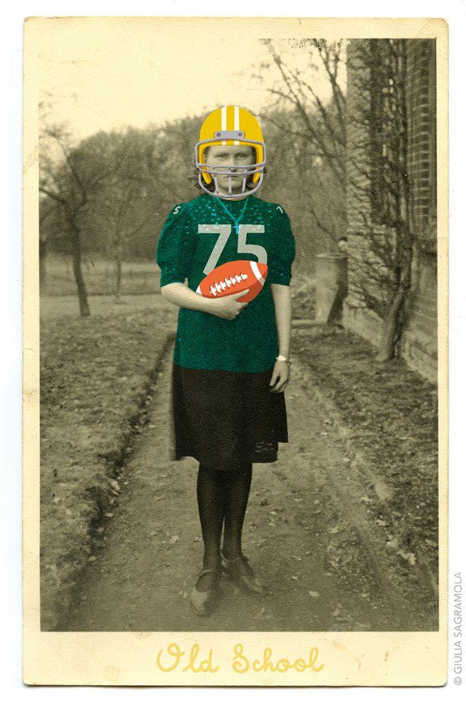 Old school football - Giulia Sagramola