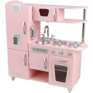 Central Coast Couponista: 4 HOURS ONLY! KidKraft Vintage Kitchen Only $99 SHIPPED!