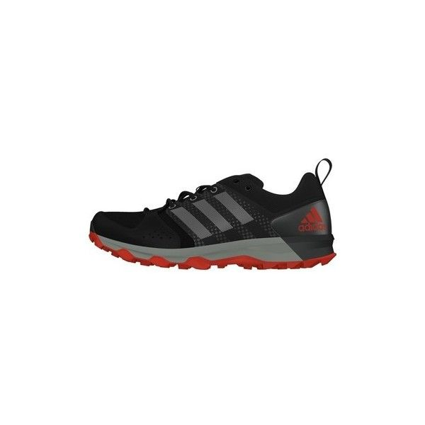 adidas GALAXY TRAIL  BB3482 Running Trainers ($79) ❤ liked on Polyvore featuring shoes, black, running shoes, women, galaxy shoes, planet shoes, black shoes, adidas and adidas footwear