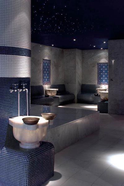 traditional Turkish bath (hammam) at the Fort Garry Hotel