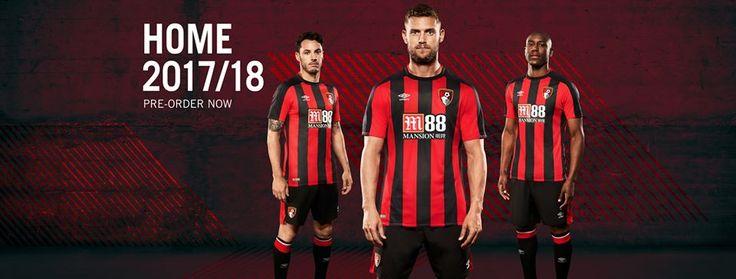 Camisas do Bournemouth 2017-2018 Umbro