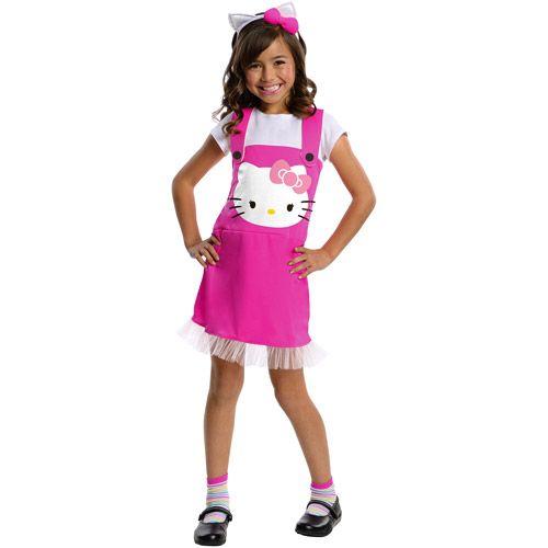 rubies hello kitty child halloween costume halloween walmartcom - Halloween Hello Kitty Costume