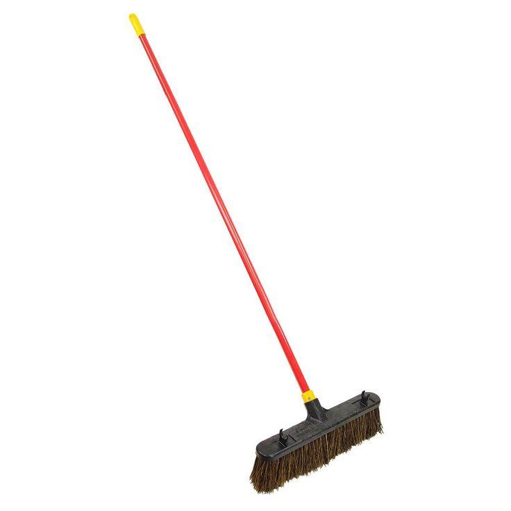Bulldozer 18 in. Palmyra Push Broom