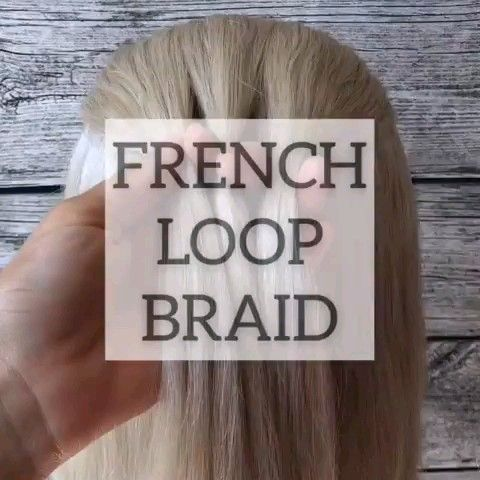 Französisch Loop Braid Tutorial