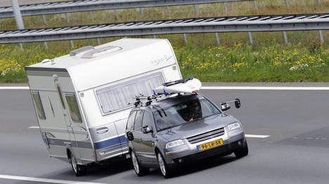 """The normal Dutch family goes on holiday with their caravan, to a campsite in France, Spain or Italy.  Yes, I also go on holiday with a caravan. I will bring every thing that I also have at home. E.g. """"hagelslag"""", peanut butter, television and so on. Thus the cammping that the dutch people do today is not sleeping in an uncomforable ten, without air conditioning and kitchen. So you can't really call it camping. But I think it is a nice way to spend the holiday.  (Kevin Ewalds)"""