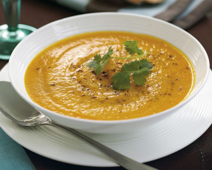 Try this tasty and easy-to-follow carrot and sweet potato soup recipe. Not only is this soup colourful, it's really tasty too.